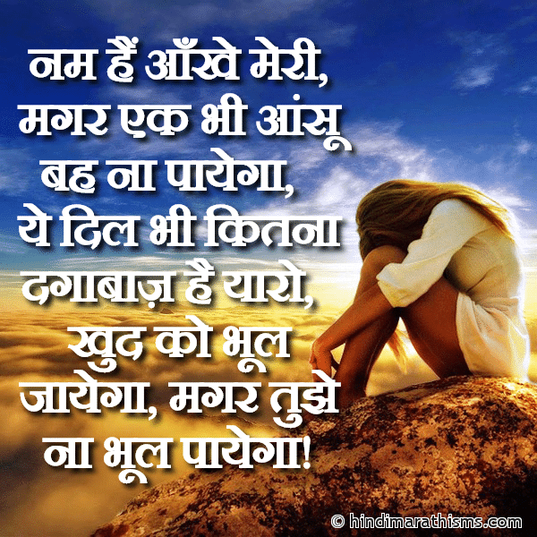 SAD SMS HINDI Image
