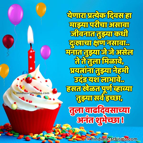 Birthday SMS Marathi | Birthday Wishes Marathi | Birthday Status Marathi